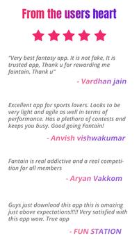 Fantain Fantasy Sports - Cricket and Kabaddi poster