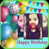 Birthday photos movie maker- Photos video maker icon