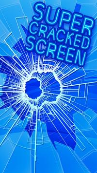 Super Cracked Screen poster