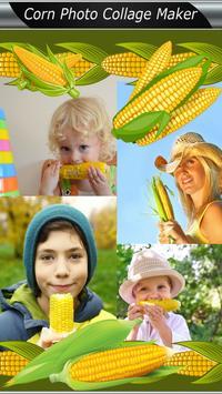 Corn Photo Collage Maker poster