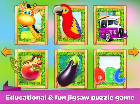 Kids Puzzles - Learning Game Baby Puzzles screenshot 6