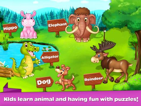 Kids Puzzles - Learning Game Baby Puzzles screenshot 1