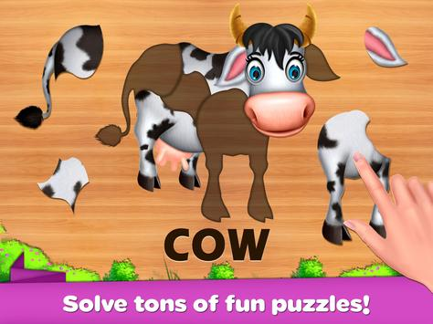 Kids Puzzles - Learning Game Baby Puzzles screenshot 2
