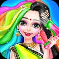 Indian Girl Hair Designer DIY Salon