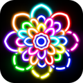 Glow Drawing Book - Kids Doodle Art Paint Draw