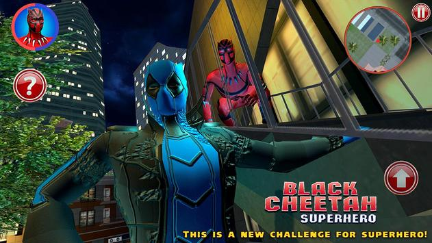 Black Cheetah Superhero screenshot 3
