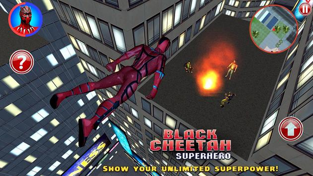 Black Cheetah Superhero screenshot 1
