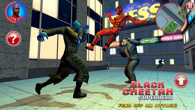 Black Cheetah Superhero screenshot 5