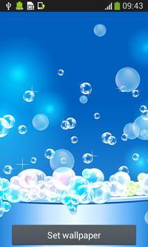 Bubbles Live Wallpapers screenshot 4