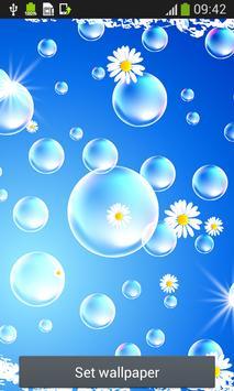 Bubbles Live Wallpapers screenshot 1