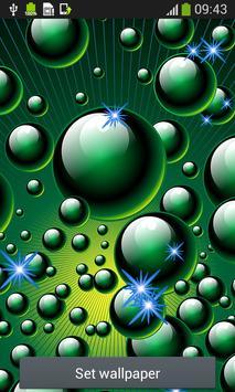 Bubbles Live Wallpapers screenshot 2