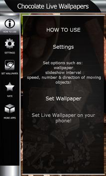 Chocolate Live Wallpapers apk screenshot