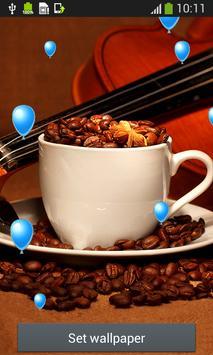 Coffee Cup Live Wallpapers apk screenshot