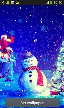 Snowman Live Wallpapers apk screenshot