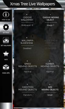 Xmas Tree Live Wallpapers apk screenshot