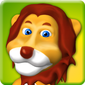 Talking Animal Lion icon