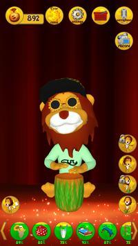 Talking Animal Lion screenshot 6