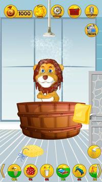 Talking Animal Lion screenshot 12