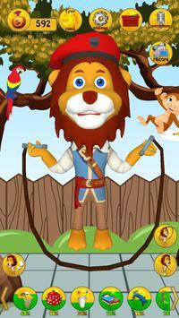 Talking Animal Lion screenshot 1