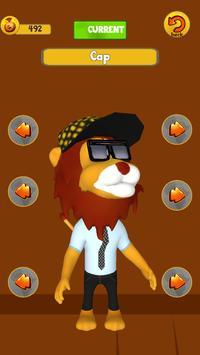 Talking Animal Lion screenshot 2