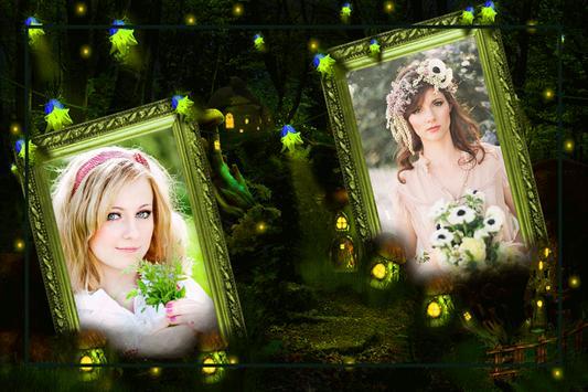 Fantasy Dual Photo Frames apk screenshot