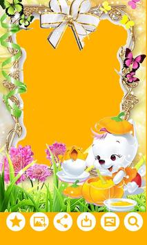 Kids Photo Frame Editor poster
