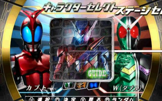 Guide Kamen Rider Climax poster