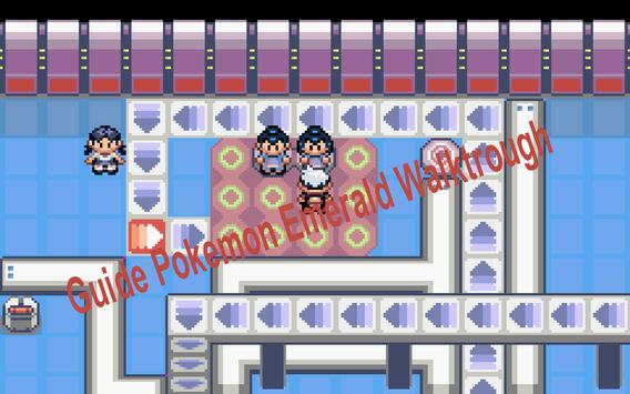 Guide Pokemon Emerald Walktrough apk screenshot
