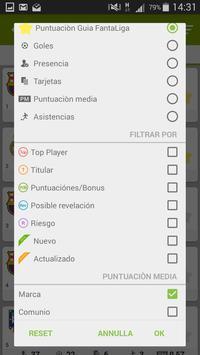 Guia FantaLiga apk screenshot
