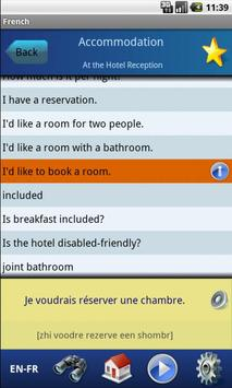 Learn French with EasyTalk screenshot 1