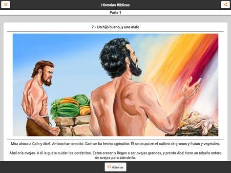 Historias de la Biblia Español apk screenshot