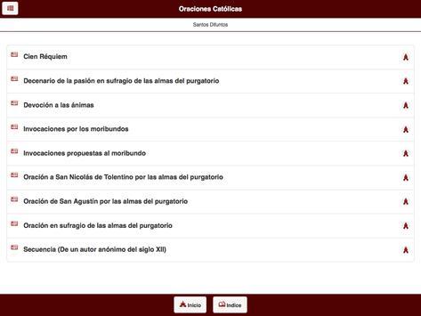 Oraciones Católicas apk screenshot