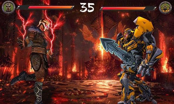 Monster vs Robot - Warriors Galaxy Battle 3D screenshot 3