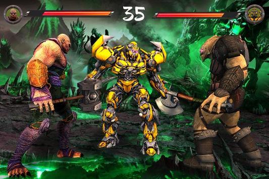 Monster vs Robot - Warriors Galaxy Battle 3D screenshot 10