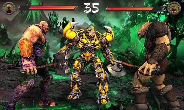 Monster vs Robot - Warriors Galaxy Battle 3D screenshot 2