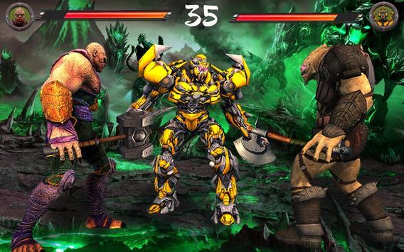 Monster vs Robot - Warriors Galaxy Battle 3D screenshot 6