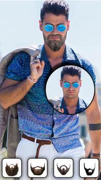 Beard Photo Editor - Hairstyle apk screenshot