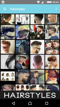 Hairstyles and Fashion For Men poster