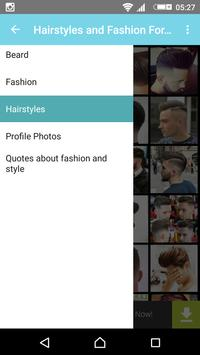 Hairstyles and Fashion For Men screenshot 4