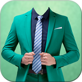 Man Formal Photo Suit icon