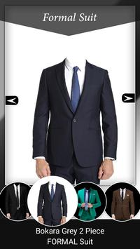 Man Formal Photo Suit poster