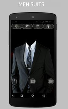 men suit fashion photo montage screenshot 2