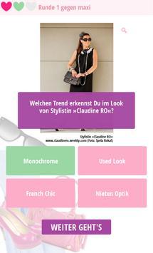 Fashion Quiz App – Quizduell apk screenshot