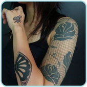 Tattoo Design Apps For Girls icon