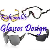 Fashionable Glasses Design icon