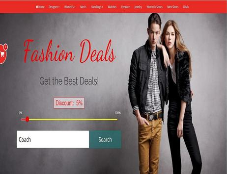 Fashion Deals - Shopping for Amazon poster