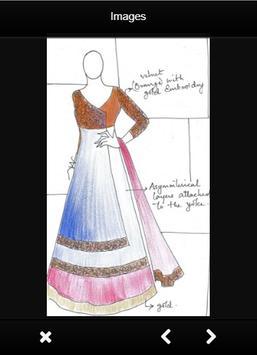 Fashion Design Sketch Dress poster