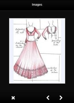 Fashion Design Sketch Dress screenshot 1