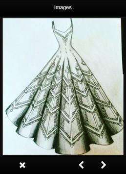Fashion Design Sketch Dress screenshot 2