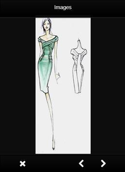 Fashion Design Sketch Dress screenshot 7